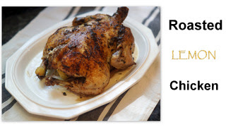 oven roasted chicken on a platter
