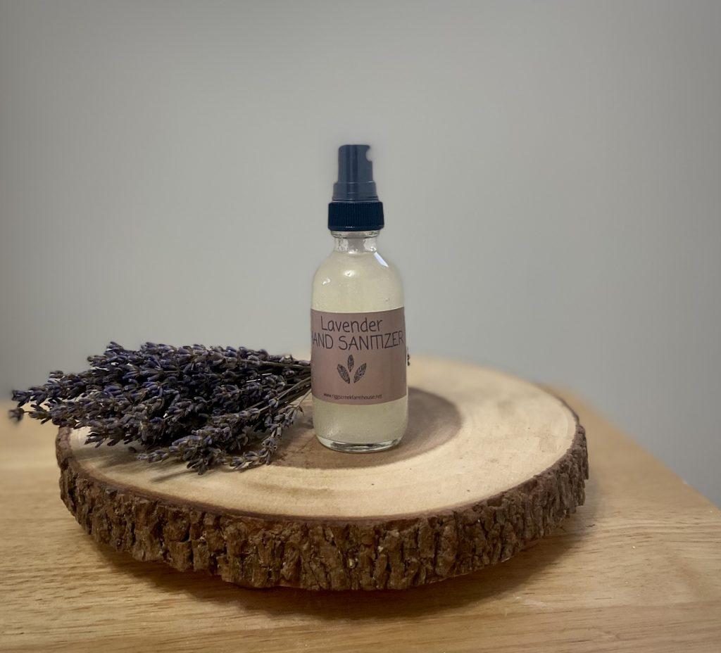 easy essential oil hand sanitizer spray