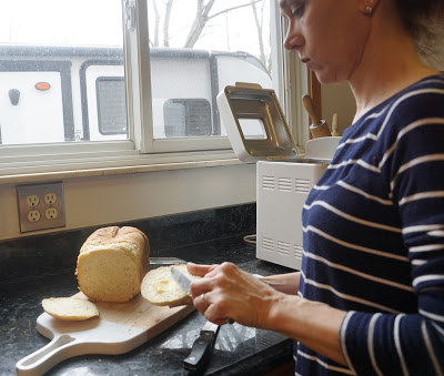 buttering Gluten Free Garlic/Parmesan Bread Machine Recipe