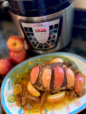 Easy Apple Slow Cooker Pork Loin to cook at Home