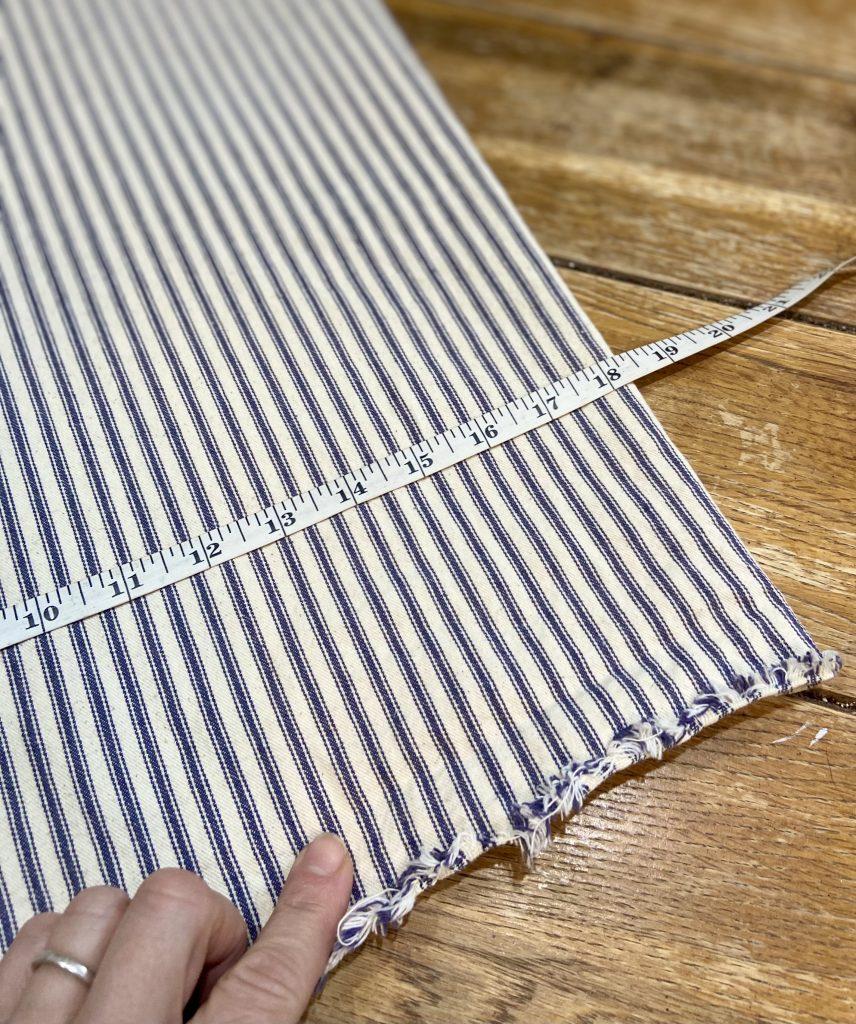 envelope pillow cover measurements