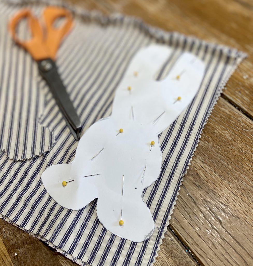 pinning stuffed bunny pattern