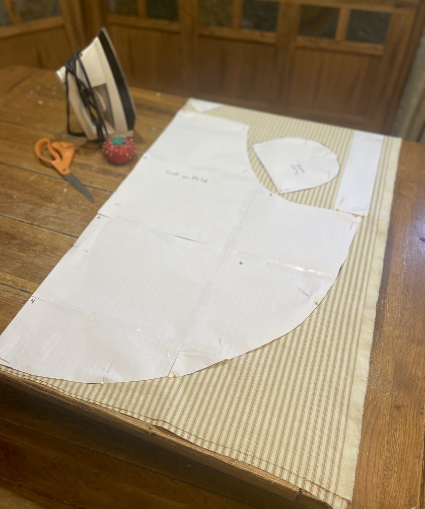 beginning sewing project