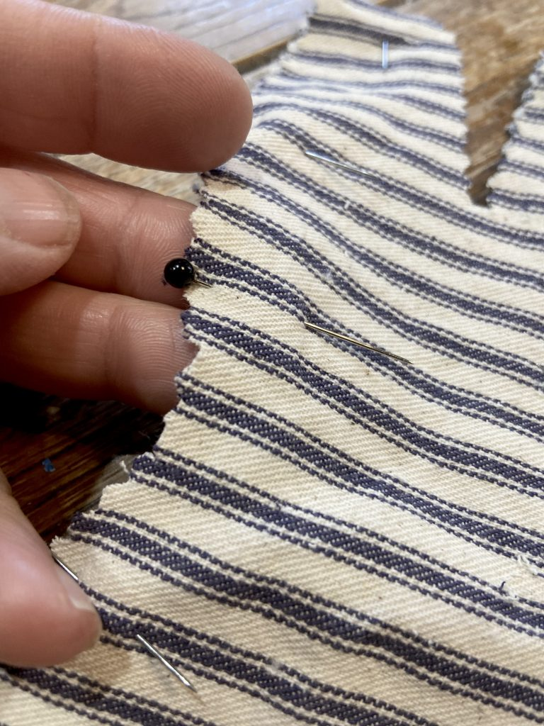 straight sewing pin