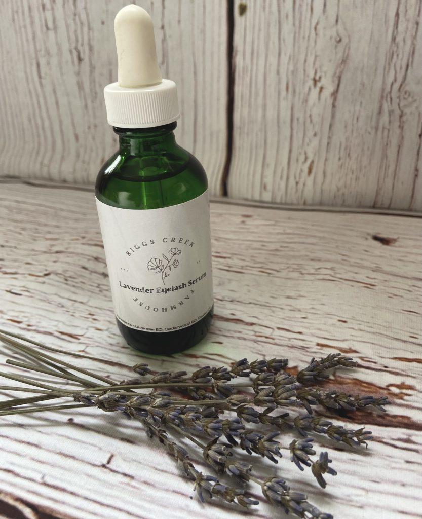 lavender diy eye serum
