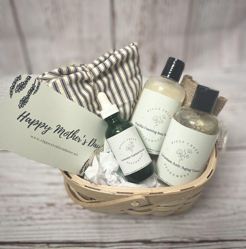 homemade beauty gift basket