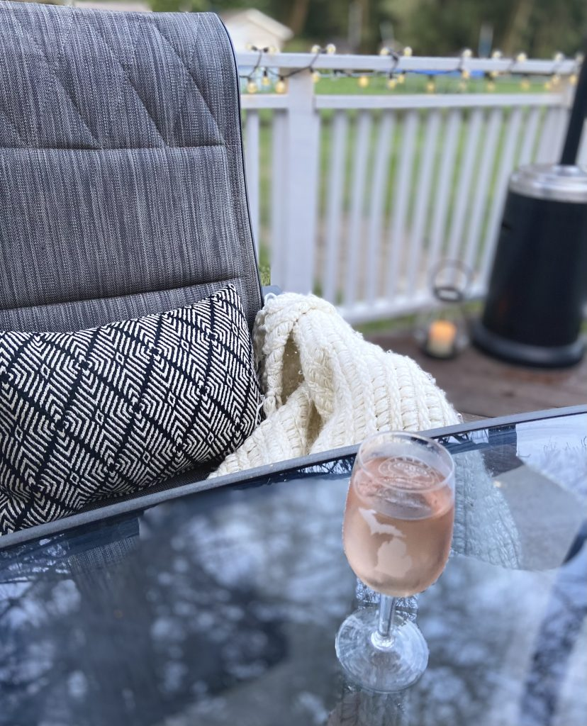 Routine Care for a Cozy Back Deck