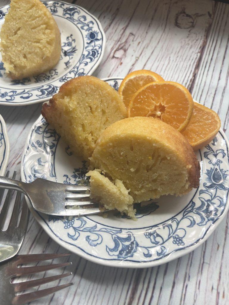 Sourdough Orange Pound Cake