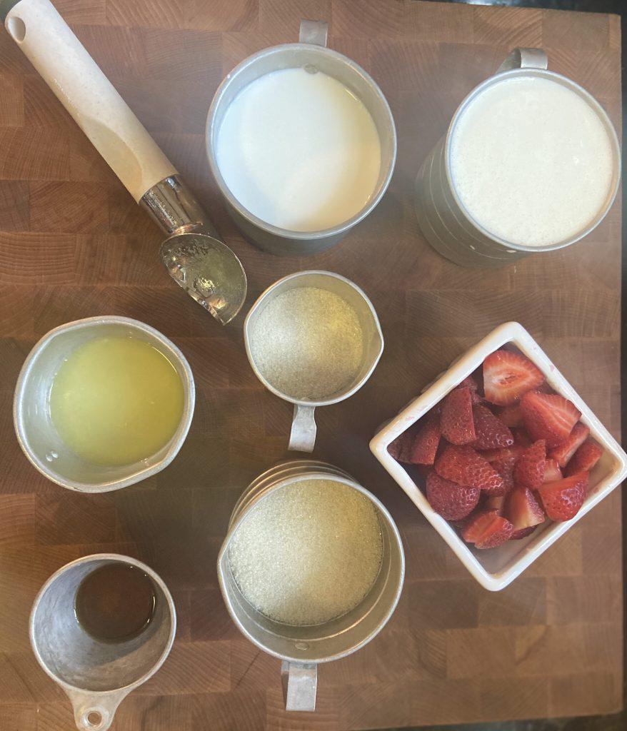 Easy Strawberry Ice Cream Recipe