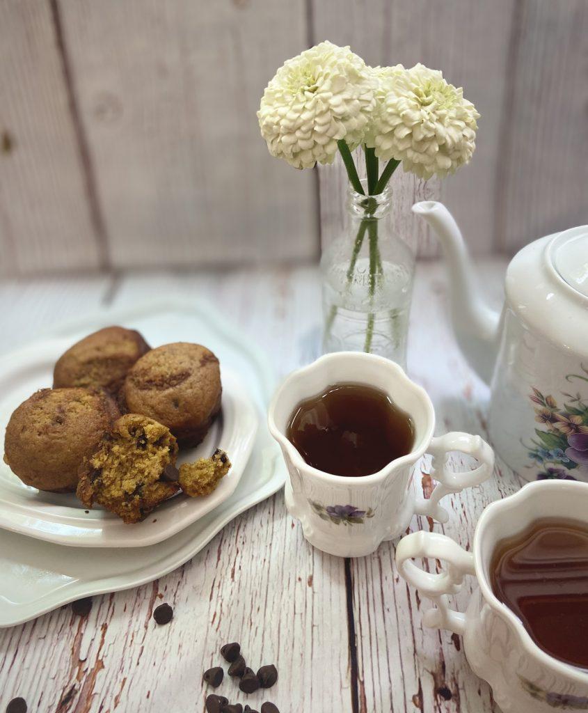 Easy Sourdough Pumpkin Chocolate Chip Muffin Recipe