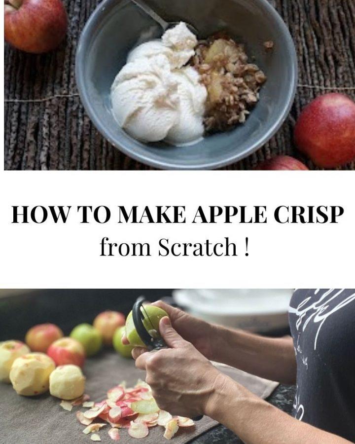 apple crisp from scratch